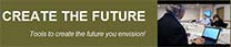 Create the Future logo redirecting to Create the Future website