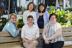 Health Planning Council Staff Members on the Ithaca Commons