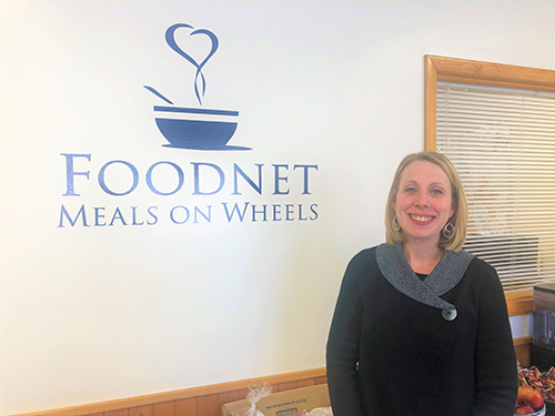 Jessica Gosa, Executive Director of Foodnet