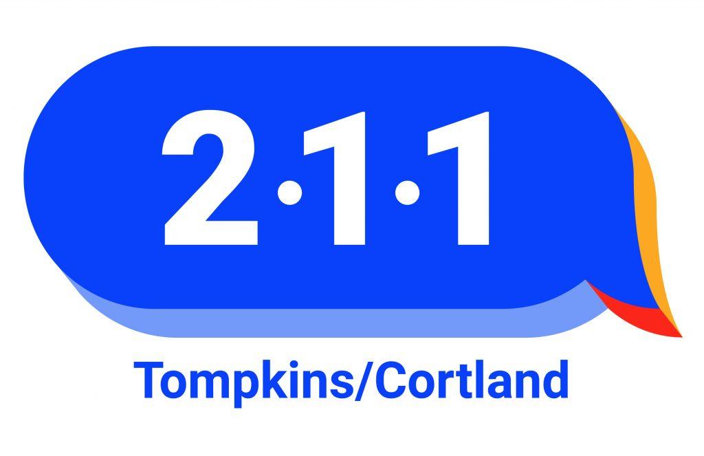 211 Tompkins Cortland Logo